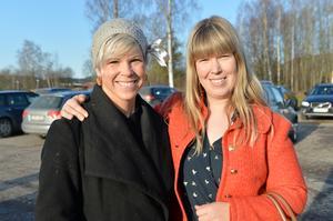 Sara Stavert och Yvonne Odsberg.
