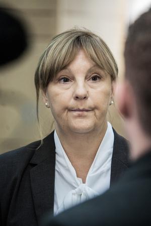 Åklagaren Madeleine Pettersson menar att kvinnan har haft ett hänsynslöst beteende även mot andra män.