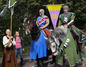 ... Chloe var faktiskt inte den enda hästen. Här är Winston och Tuffing från Tiundalands väktare i Älvkarleby.