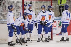 Finland tar VM-medalj för tredje året i följd.