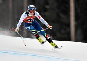 Lisa Hörnblad tog sina första poäng i världscupen under söndagen.