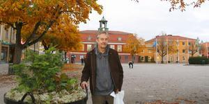 Stefan Björklund har på lördag vernissage för sin första utställning.
