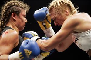 Åsa Sandell i en match mot Teresa Perozzi 2007. Foto: Lars Hedelin / SCANPIX