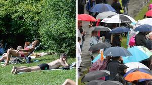Högsommarvärmen går över i ett mer traditionellt svenskt sommarväder nästa vecka - i alla fall enligt den allra senaste prognosen.