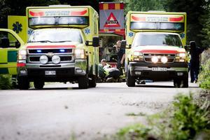 Den katastrofsituation som uppstod innebar en stor kraftsamling för ambulanssjukvården vid respektive ambulansstationer, inte minst i Ludvika. Där fanns inget utryckningsfordon inne efter pådraget till Tolvsbo.