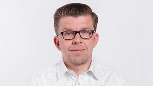 Johan Kihlberg är utredare vid Boverket. Fot: Franz Feldmanis/Boverket