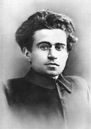 Den italienske marxistiske filosofen Antonio Gramsci. Foto: Okänd