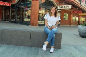 Mia Öberg jobbar som centrumledare med ansvar för Gallerian.