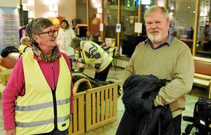 Foto: David JiglundPer Herrey har länge varit engagerad för Sollefteå sjukhus. Han har tagit ett nattpass och dessutom spelat in en