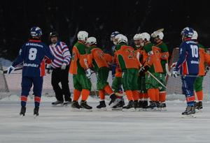 Östersund lyckades spela oavgjort mot Selånger – trots att fem nyckelspelare fattades på isen.