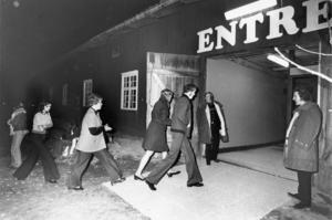 Skultuna Lagårn invigdes 1973. Denna bild är tagen någon gång på 70-talet.