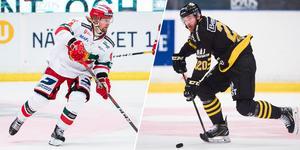 De två hockeyallsvenska konkurrenterna ska göra upp på Fagerliden under försäsongen. Foto: Bildbyrån
