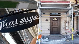 Restaurangen Thai Style på Södra Järnvägsgatan har försatts i konkurs.