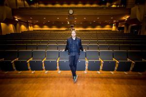 Pelle Larsson lämnar Bollnäs kulturhus för Gävle konserthus efter sommaren. Bild: Henrik Nyblad /Arkivbild