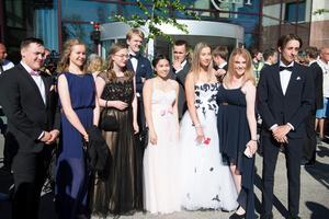 Studenter från Mikael Elias och Skvadern.