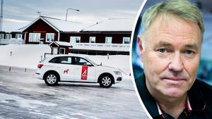 Under två dagar genomför branschorganisationen Installatörsföretagen en utbildning på Dalarnas Trafikövningsplats i Falun, vilket är en storsatsning på trafiksäkerheten.