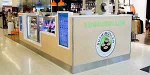 Sushirullen, restaurang i Igorgallerian, är till salu på Blocket.