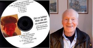 Sune Hörnström, en skämtare som gjort mycken nytta i kulturella sammanhang, är mycket nöjd med sin andra skiva som lagom till jul släpps till försäljning. Foto:Kurt-Göran Öberg