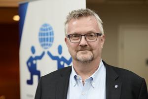 Mats Åkerlind är förhandlingschef på Byggföretagen. Foto: Maja Suslin/TT