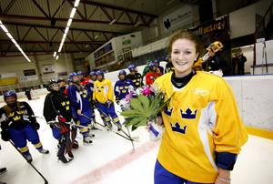 År 2011 fick Sabina Küller motta NT-sportens Ungdomsstipendium. Bild: Anders Sjöberg