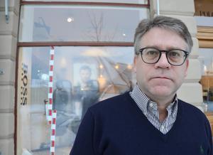 Per-Erik Christensen, ägare av butiken Lads.