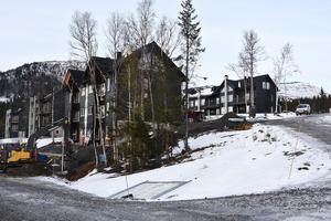 En fortsättning med ytterligare 90 bostadsrätter planeras av den här typen i ett intilliggande område.