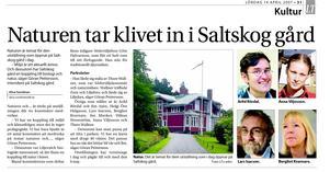 Göte Halvarsson har ställt ut ett otal gånger i Södertälje. Bland annat i mars 2003  visade han djur- och naturmotiv i Liljefors anda (olja, akvarell och tuschlavyr) på Folkets hus i Järna. Våren 2007 deltog han i en  samlingsutställning med bland andra Arild Rördal, Jim Axén, Jan Manker samt Thure Wallner på Saltskog gård. I november 2014 ställde han ut i Gamla rådhuset.