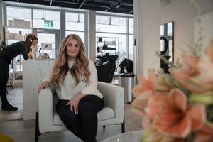 I Nykvarn är företagare duktiga på att samarbeta med varandra, istället för att konkurrera hårt, berättar Christina Riipi Glatkow.