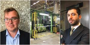 Kammaråklagare Marcus Ekman/Robotcellen inne på Scania/Advokat Ninmar Poli