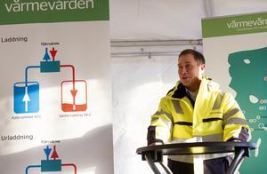 – Jag är stolt över det här, säger regionchef Per Persson, Värmevärden.