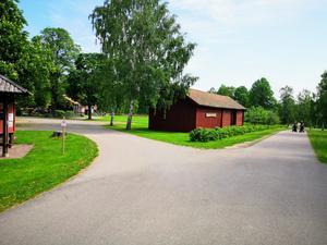 Här på Gammelgården kommer start- och målområde att finnas. Även buffébord och mingelmöjligheter.