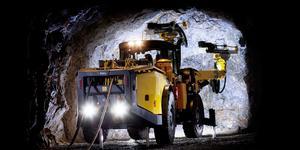 Det är bland annat den här typen av gruvmaskiner som Epiroc nu ska leverera till chilenska statens största koppargruva, som nu ska byggas ut.