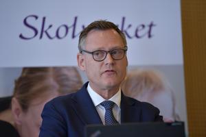 Skolverkets generaldirektör Peter Fredriksson