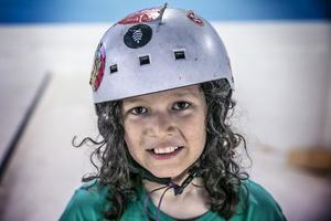 10-åriga Harald Haller Acevedo började åka skateboard för 1,5 år sedan. Nu brukar han åka bräda tre dagar i veckan.