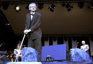 Robert Gustafsson och Tito Beltran var några av de som gästade Rhapsody In Rock 15 juli 2000 på Strömvallen. Det näst senaste evenemanget av nöjeskaraktär vi kan hitta fotobevis på ägde rum där. Bild: Catharina Hugosson.