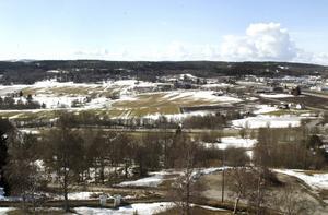 April 2006. Så här såg det ut innan Östra Birstas handelsplats tog form.