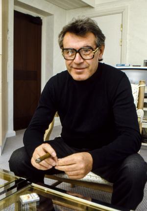 Miloš Forman 1986. Foto: Rolf Hamilton / TT