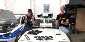 Lotta Wennberg och Lotta Lundqvist ska tillsammans ge sig i kast med de 890 kilometerna som är Midnattssolsrallyt.