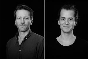 Foto: Magnus WahmanHans Appelqvist och Alexander Zethson ligger bakom den musik som framförs i Örebro länsteaters föreställning