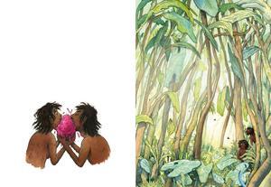 Eva och Adam. Illustration av Marcus-Gunnar Petterssons i  nya