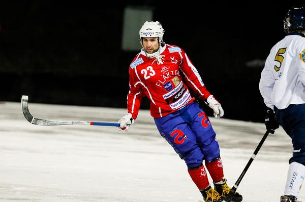 Klas Nordström var delaktig i situationen som fick tre Gustavsbergsspelare utvisade.