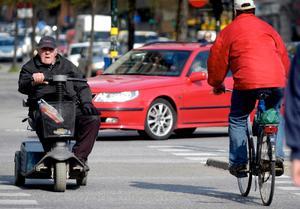 Cyklar båda trafikanterna? Läs vidare så får du svar. Bild: Fredrik Persson/Scanpix/TT/Arkiv