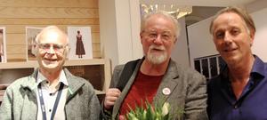 Tre entreprenörer i Dellenbygden som kom med Gröna vågen på 1970-talet: Hans Martin, Peter Jonaszon och Per Iversen.