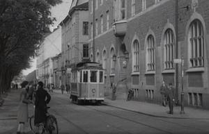 Gävle på 1930-talet från Öppet arkiv. Bild: SVT