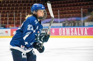 Maja Nylén-Persson är trots sina blott 17 år Erik Sandbergs profil i Leksand.