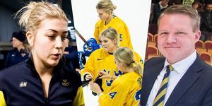 Grahm är besviken på att hockeyförbundet inte visar vad de vill med svensk damhockey. Foto: Jon Olav Nesvold/Bildbyrån.