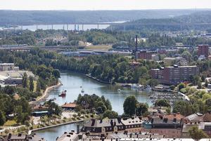 """När kanalombyggnaden är klar ska Södertälje bli bättre på att använda vattnet. """"Det kommer bidra till centrumutvecklingen så att de centrala delarna av staden upplevs på ett mer positivt sätt och attraherar fler besökare"""", säger Karin Voltaire.Arkivbild: Paola N Andersson"""