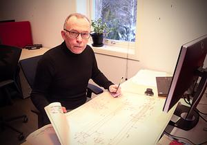 Stefan Andersson jobbar fortfarande också själv med olika konstruktioner,