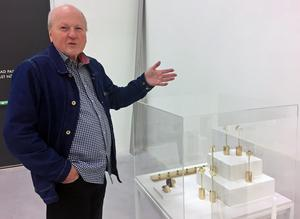 Designhistorikern Thomas Lindblad skriver en bok om Pierre Forssell.