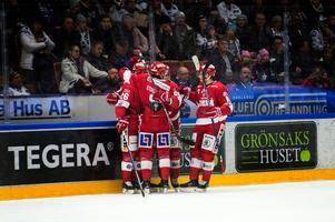 Timrå vann med 2–0 mot Leksand och är nu en seger ifrån direktkvalet till SHL.